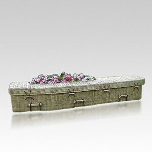 Biodegradable caskets can also be used for cremation.