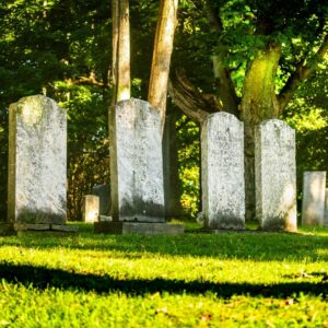 Buying a burial plot from a friend or relative can help save a substantial amount of money.