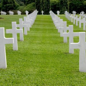 Many cemeteries have special areas for sports stars.