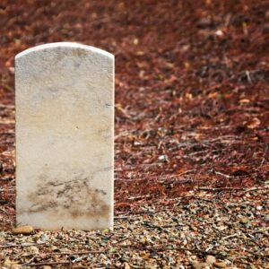 Leaving a grave unmarked is not unacceptable per certain religions.