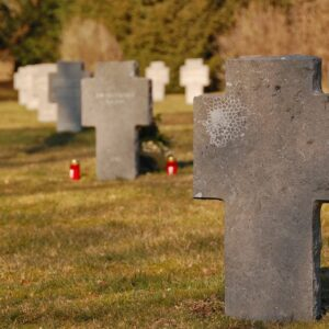 Leaving a grave unmarked is ultimately a family's decision.