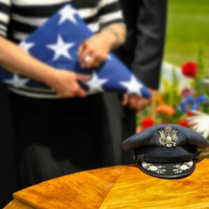 Honorable discharged veterans are entitled to burial rights per the VA